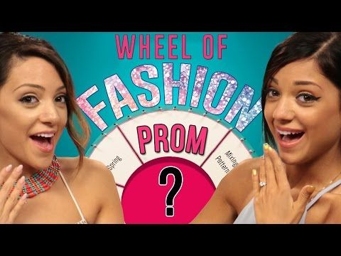 Prom Dress Challenge With NikiAndGabiBeauty! - YouTube