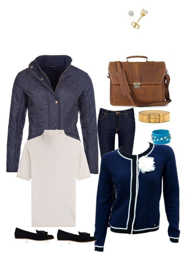 """""""Work wear february"""" by wardrobepieces on Polyvore featuring Lee, Barbour, KG Kurt Geiger, Karl Lagerfeld, Steffen Schraut, Valentino, Talie NK and Amanda Rose Collection"""