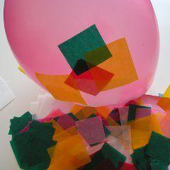 Lampion - papier maché van vliegerpapier