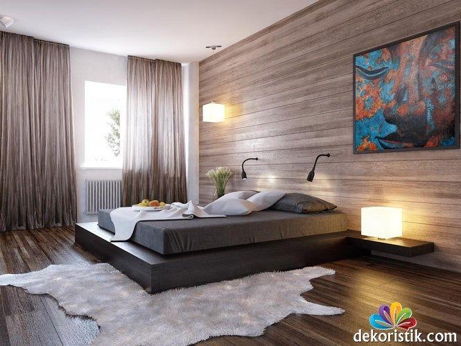 siyah yatak odası