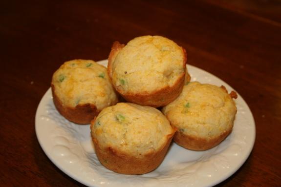 gluten free, egg free corn bread muffins | Oh Yum | Pinterest