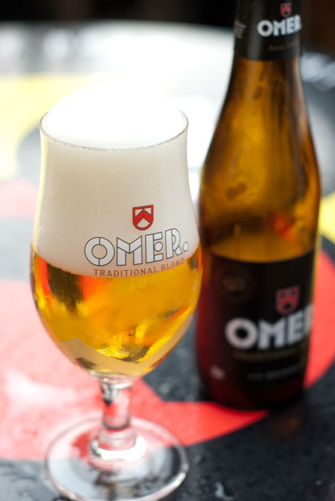 Omer Blond – Beer #Belgium  First time I'd found this one, definitely recommend it, a little strong though so not good in volume!