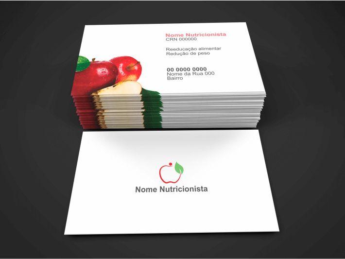 Cartão de Nutricionista