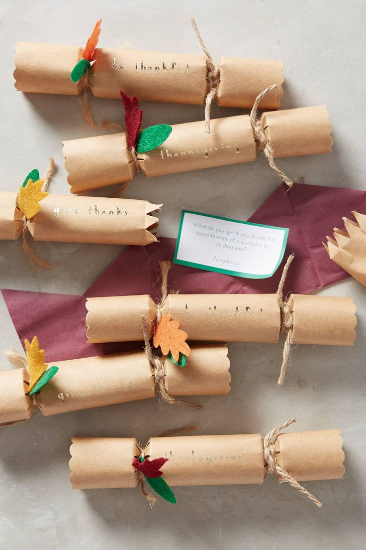 Be Thankful Confetti Crackers - anthropologie.com