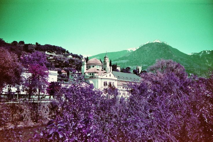 LomoChrome Purple in Meran, Südtirol (c) Lomoherz.de, lomo