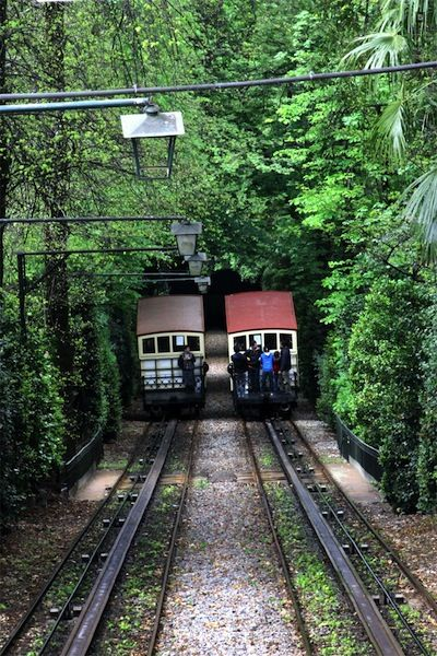 Ride the Elevador do Santuário Bom Jesus do Monte, Braga, Portugal is one of the 30 Global Destinations That Should Be On Your Bucket List By Amanda Rushforth - April 2014