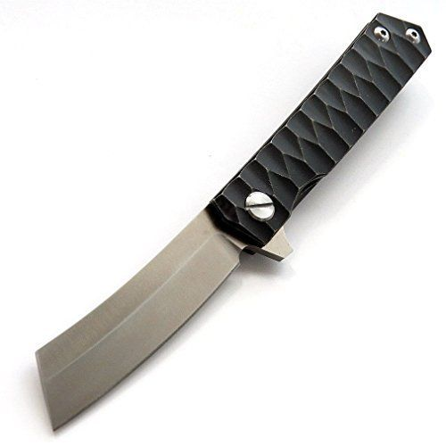 Eafengrow EF97 Pocket Knife Folding Knives D2 Steel Blade Titanium Handle Camping Outdoor Tools Tactical Knife EDC Hand Tool (black). For product & price info go to: https://all4hiking.com/products/eafengrow-ef97-pocket-knife-folding-knives-d2-steel-blade-titanium-handle-camping-outdoor-tools-tactical-knife-edc-hand-tool-black/