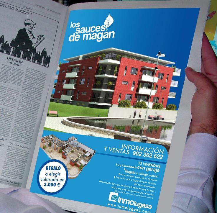 Creatividad para Inmolugasa. Más en http://www.lacaseta.com/ #Diseno #Design #ideas #Creatividad