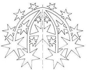fireworks papercut