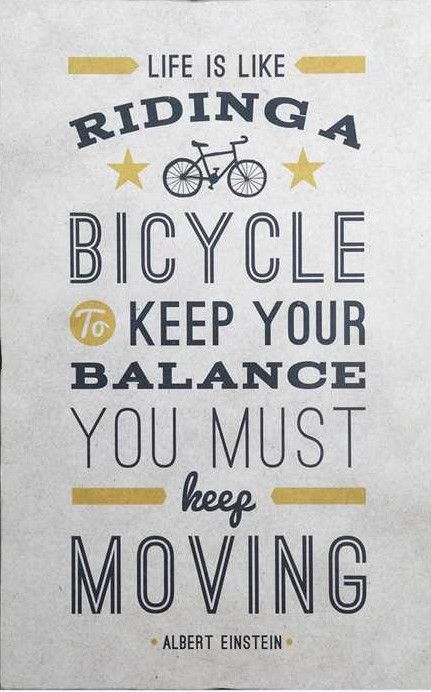 Life is Like Riding a Bicycle Wall Decor                                                                                                                                                     More