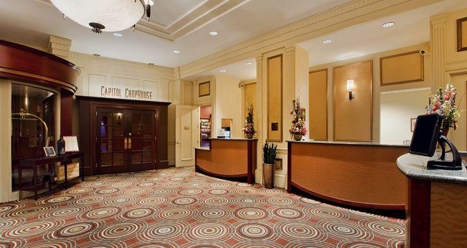 Hilton Madison Monona Terrace Hotel, WI - Hotel Lobby