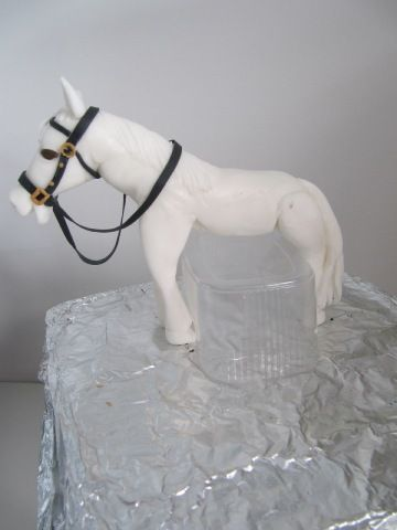 Fondant horse tutorial