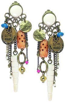 Franck Herval earrings - S/S 14