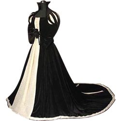 Womens Medieval Gowns, Renaissance Dresses, and Historic Reenactment Dresses from Your Dressmaker