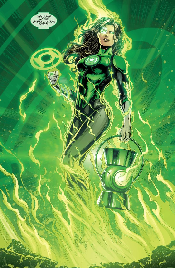 New Green Lantern by Jason Fabok