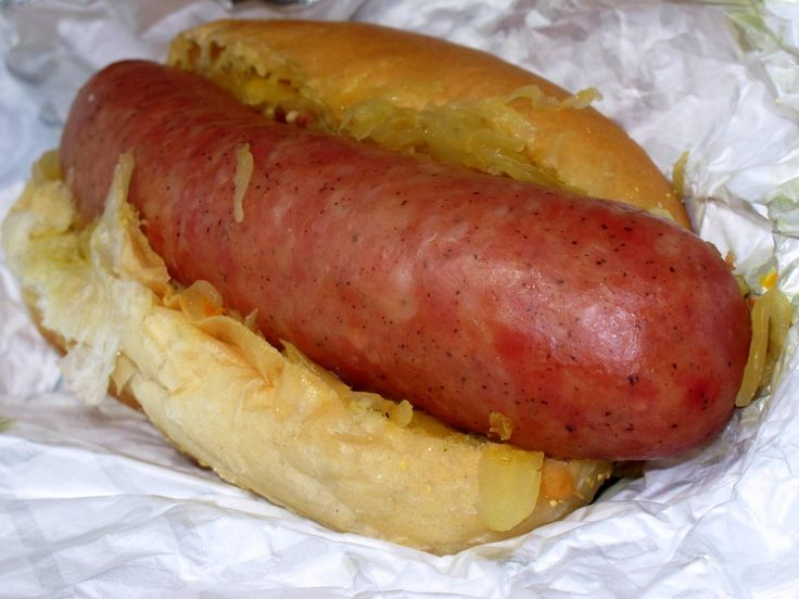 German Sausage Used For Hot Dogs