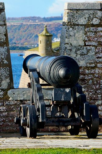canon, fort george, scotland   travel destinations in the united kingdom + fortifications #wanderlust