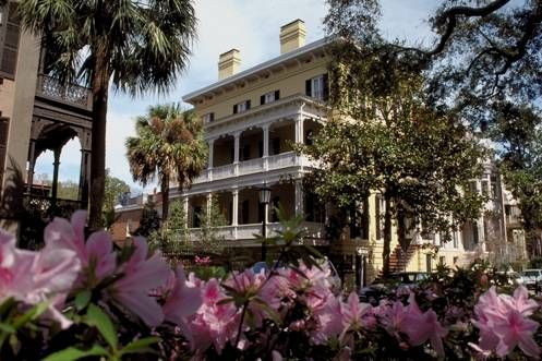 The Price family's town house in Savannah Georgia, a city of charm, gentility and hot, sultry Southern nights!