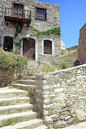 An old mediterranean house by Scionxy, via Dreamstime