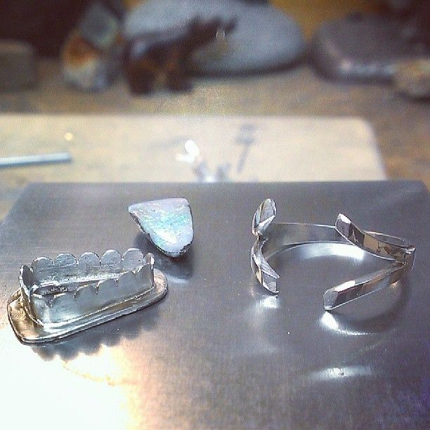 Opal fabricated ring update #tw...