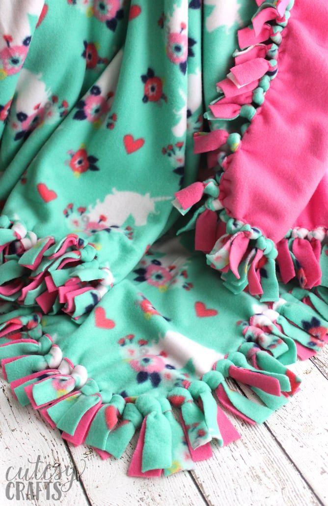 How To Make A Tie Blanket From Fleece Hats Tie Blankets Blanket