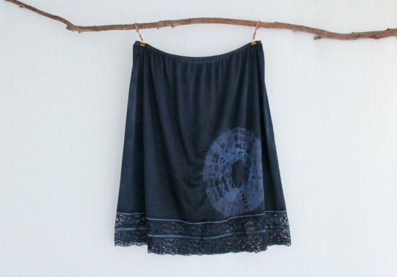 MUSE . women's tie dye skirt . plus size 26 . by bohemianbabes