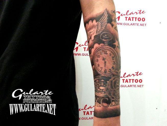 tatuajes de relojes - Buscar con Google