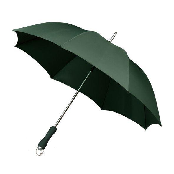 En flot robust kvalitets paraply med aluminium skaft og glasfiber ribber som gør paraplyen mere robust og vindfleksibel end alm. paraplyer. Dens aluminiums skaft og matchende skulderrem gør paraplyen let og nem at transportere.  Glasfiber ribber (Vind fleksibel) Aluminium skaft. (Let) Skulder rem i machende farve. Gribevenligt gummi håndtag. Længde sammenslået : 78 cm Vægt kun 450 g Diameter : 98 cm
