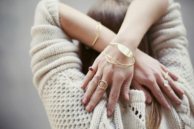 South African designer Karin Rae Matthee's jewelry collection (HWF)