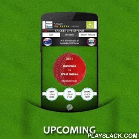 Cricket Live Stream (Animated)  Android App - playslack.com , NOTE: This application does not broadcast any videos or live video streaming.Cricket Live stream is an android streaming application for cricket. Livestream is a new out of the concept idea which was well thought and brought into life. The aim of live stream is to make watching cricket scores more interesting and live. Watching a live telecast of the match in your mobile may cost you more internet data and battery. Cricket…