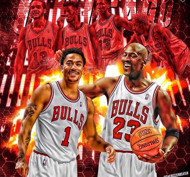 A healthy Derrick Rose is definitely fitting to be the next legend in Chicago.