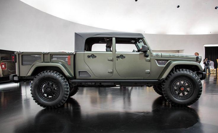 View I Predict a Riot: Jeep Kaiser Crew Chief 715 Concept ...