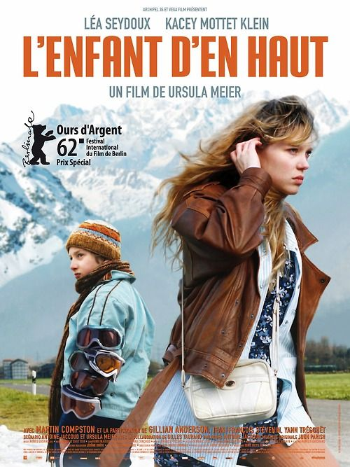 L'enfant d'en haut / Sister (2012)  http://www.bbook.com/actress-lea-seydoux-on-her-new-film-sister/   http://www.indyweek.com/indyweek/two-swiss-outcasts-in-sister/Content?oid=3290472  http://butlerscinemascene.com/2013/01/11/sister-sibling-act/