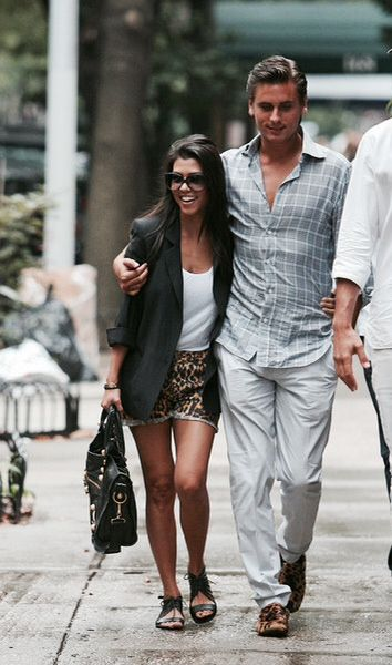 | Kourtney Kardashian And Scott Disick |