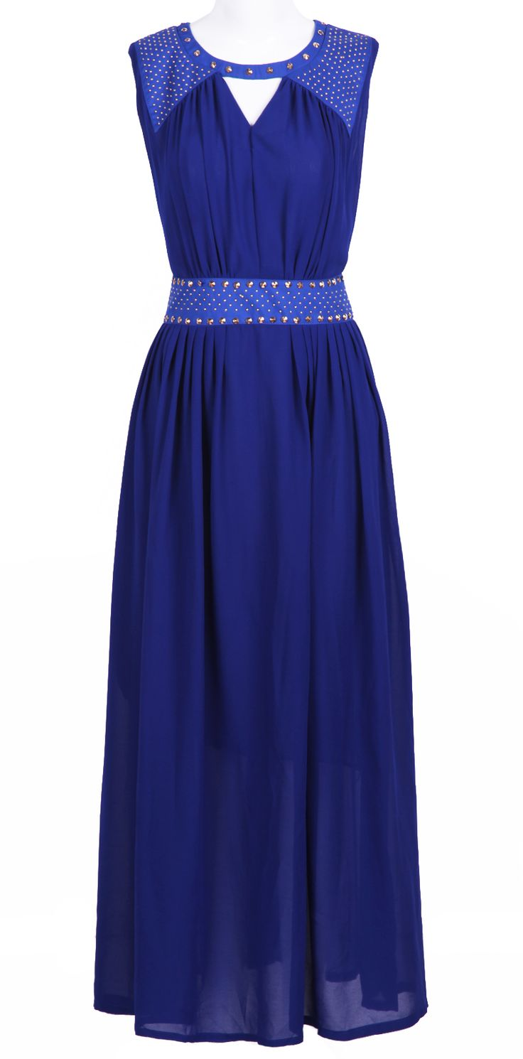 royal blue maxi <3