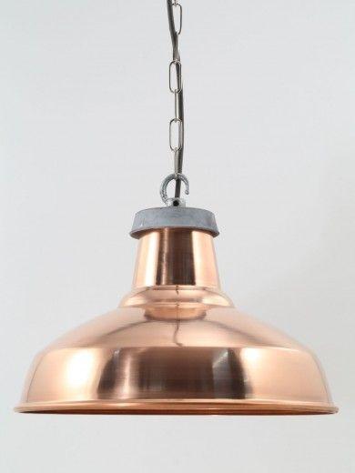 copper lampshade | pendant