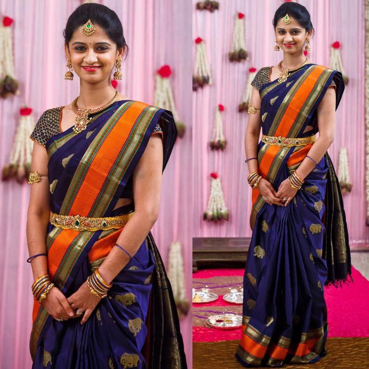Parnicaa Reddy Dharmavaram Saree - Saree Blouse Patterns