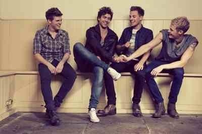 Lawson fooling around they look more like family than a boy band in this picture xxx