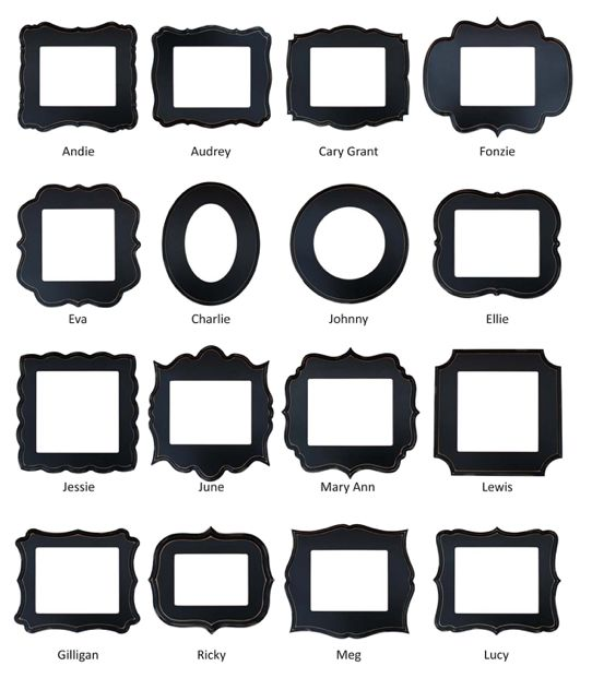 frame shapes - Google Search