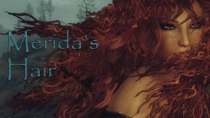 This mod adds two hair styles based on Brave's character