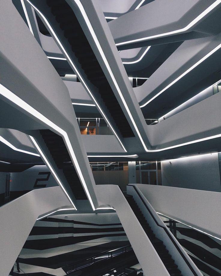 240 best architect zaha hadid images on pinterest for Citco headquarters