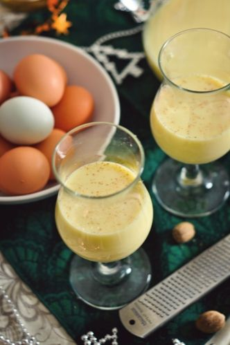 """I make it every year on Winter Solstice, and have friends over; EVERYBODY has to try some...and everyone likes it -  even those people who say """"I don't like Eggnog."""