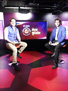 kalyan Chaubey: Lets Football, Talk show on Football In Star Sport...