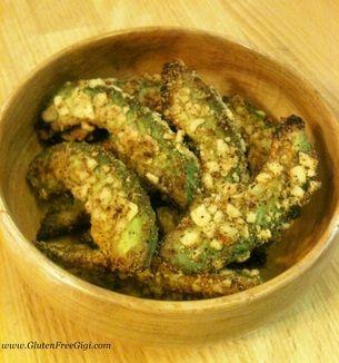 Gluten Free Vegan Avocado Fries... You will LOVE this healthy treat!! :)
