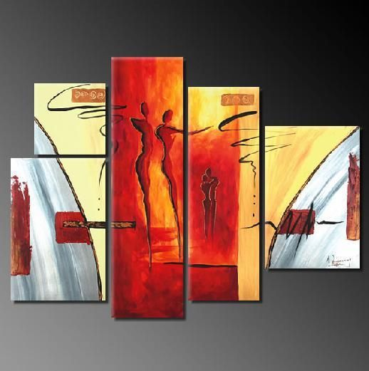 Artify Collections - Hand Painted High Quality Group Art Oil Painting Number 259, $53.23 (http://artifycollections.com/hand-painted-high-quality-group-art-oil-painting-number-259/)