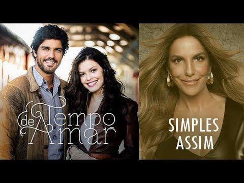Ivete Sangalo - Simples Assim (Tema de Celina e Artur | Tempo de Amar) (LETRA) - YouTube