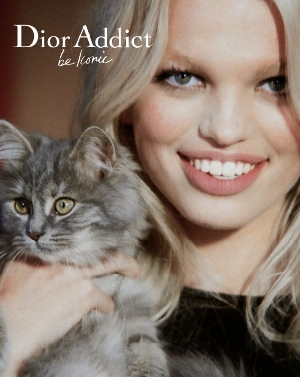 Dior Addict - Daphne Groeneveld, my favourite model right now-- she's so cute!