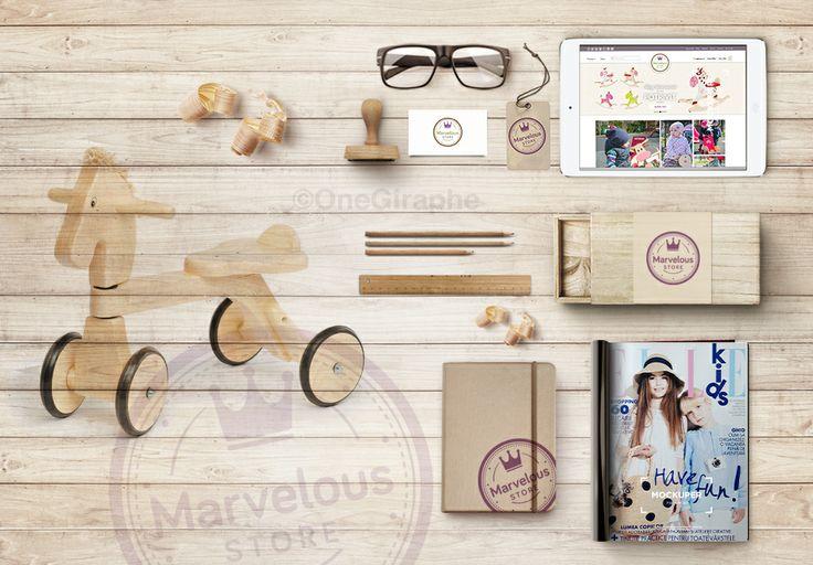 www.marveloustore.ro  #logo #design #logodesign #brand #branding #brandidentity #graphic #designgraphic #designer #logodesigner #needlogo #woodtoys #wood #stationery #stationerydesign #toys #toy #bike #ride #elle #website