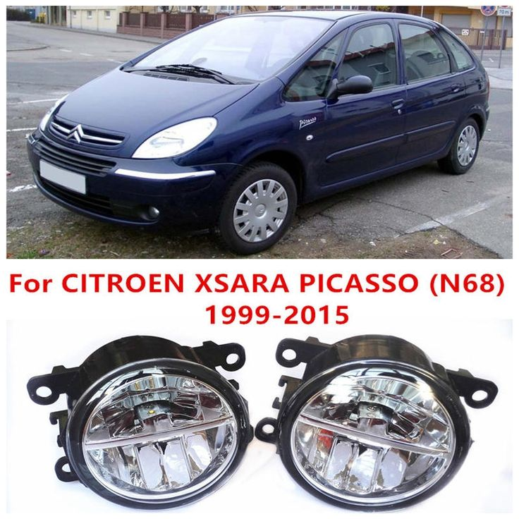 (37.84$)  Watch more here - http://aizuz.worlditems.win/all/product.php?id=32579742551 - For CITROEN XSARA PICASSO (N68) 1999-2015 Fog Lamps LED Car Styling 10W Yellow White 2016 new lights