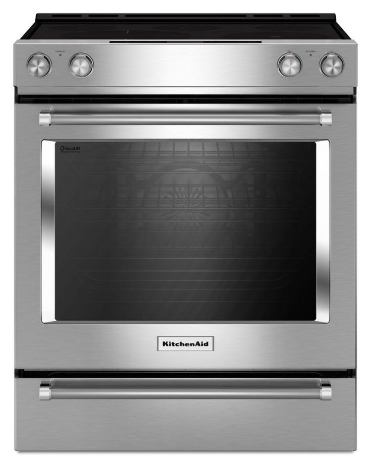 6.4 cu. ft. Electric Slide In Convection Range in Stainless Steel